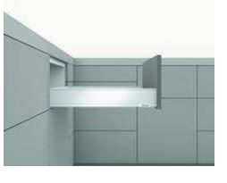 LEGRABOX M-HEIGHT 40 KG ORION GREY STANDARD DRAWER FOR A NOMINAL LENGTH OF 550 MM