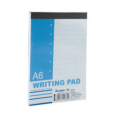 Writing pad books