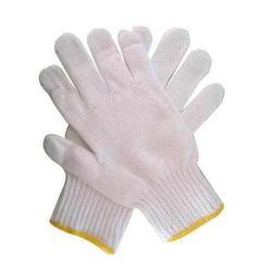 "Hosiery White 8"" Hand Gloves"